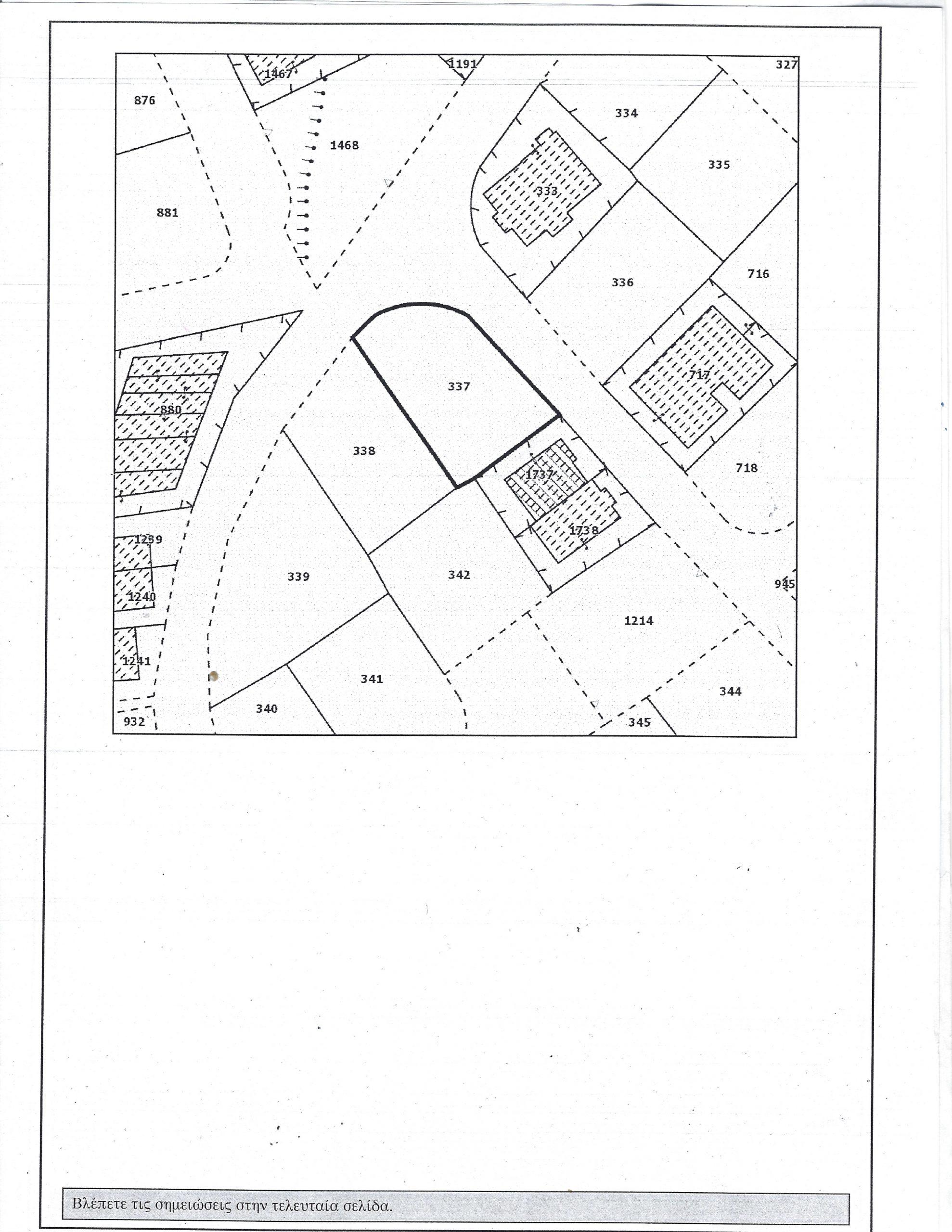 Residantial plots in Oroklini