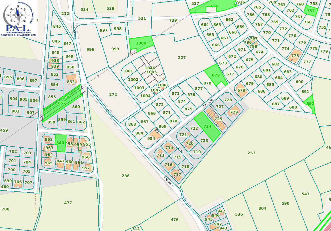 Residential plots for sale Pyla
